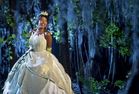 princess tiana in costume