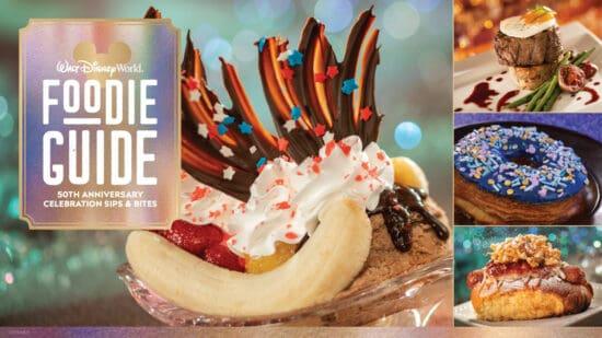 Foodie guide to Walt disney world 50th anniversary