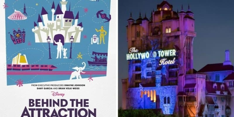 Behind the Attraction Tower of Terror