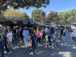 disneyland crowd levels september