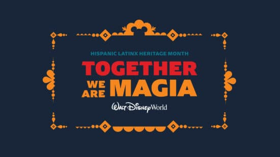 Disney world celebrates Hispanic Latinx Heritage Month