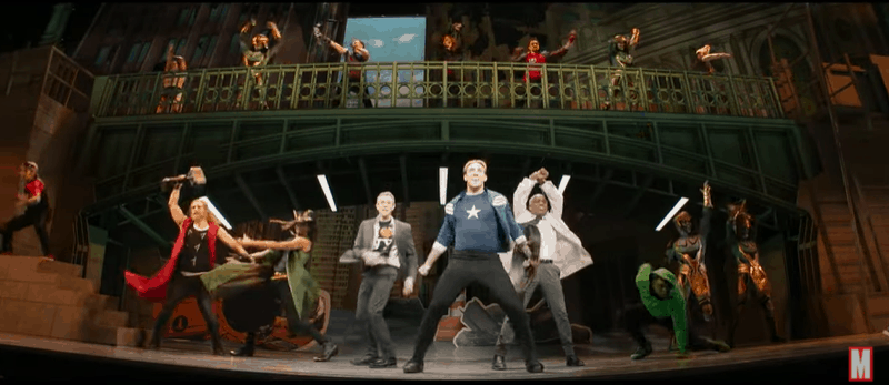 Hawkeye trailer, Rogers musical