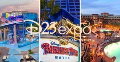 D23 Disneyland Hotels