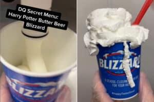 Butterbeer Blizzard
