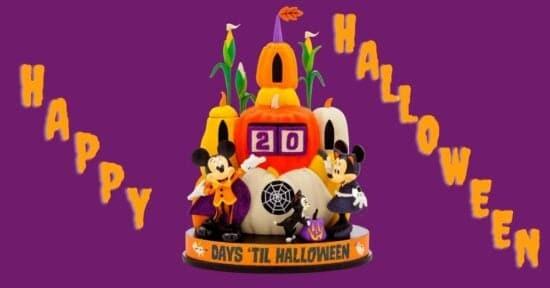 Mickey Halloween countdown