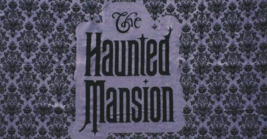 Haunted Mansion blanket