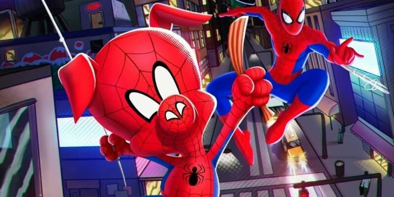 Spider-Ham and Spider-Man