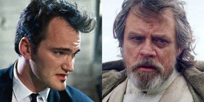 Quentin Tarantino (left) and Mark Hamill (right)