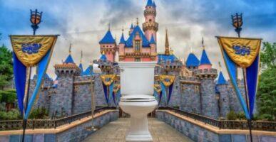 Disneyland Bathroom