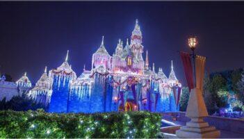 Sleeping Beauty Castle Christmas