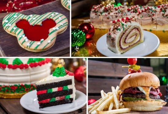 Disneyland Christmas food