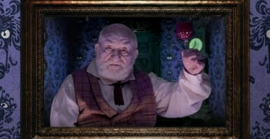 Ed Asner Haunted Mansion