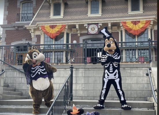 Halloween Goofy and Dale DL