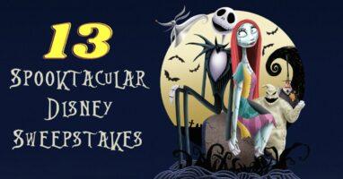 Nightmare Before Christmas Disney sweepstakes