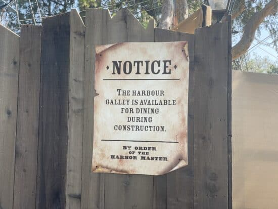 Harbour Galley Open Sign