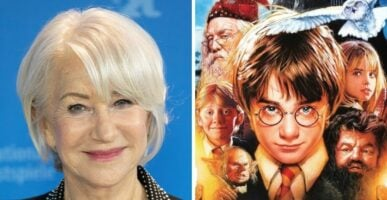 Helen Mirren Harry Potter
