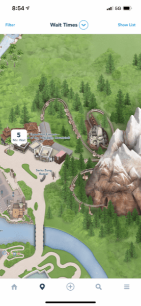 expedition everest wait time labor day 2021