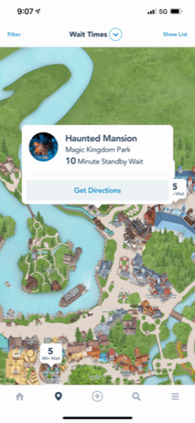 haunted mansion wait time labor day 2021