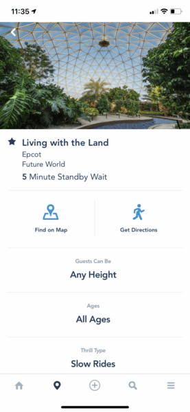 living with the land wait time