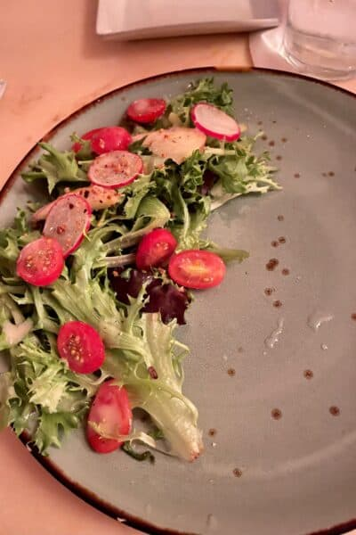 be our guest field greens salad