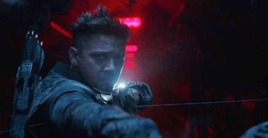 Jeremy Renner, Hawkeye, Endgame