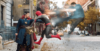 doctor strange vs. spider-man