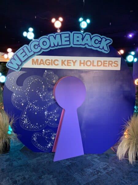 Magic Key Launch Experience