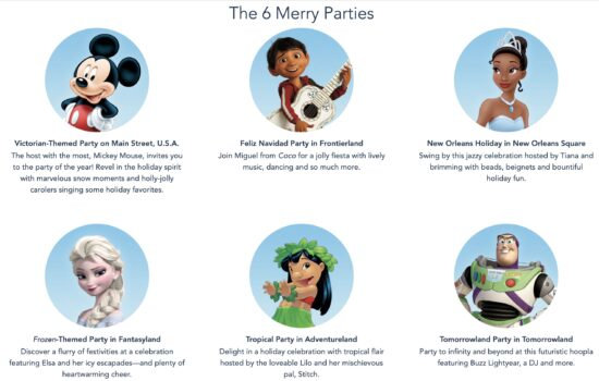 Merriest Nites parties