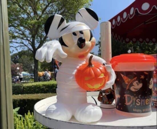Mickey mummy popcorn