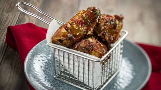 PB&J chicken wings