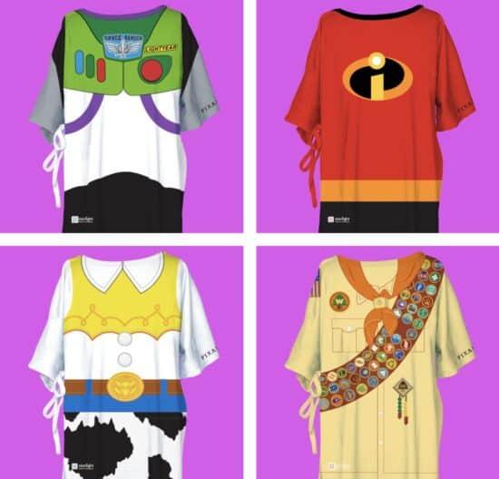 Pixar-themed hospital gowns
