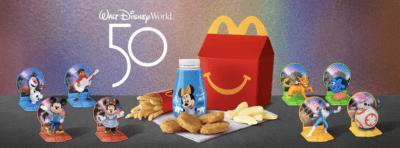 Disney World McDonalds toys