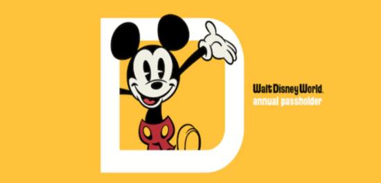 disney world annual pass logo