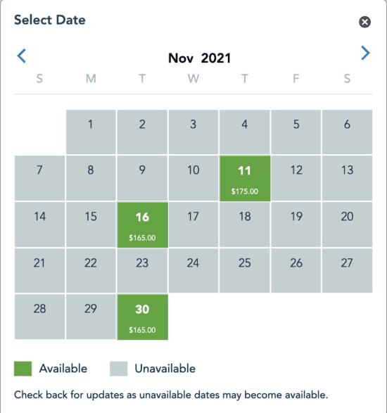 Merriest Nites Dates