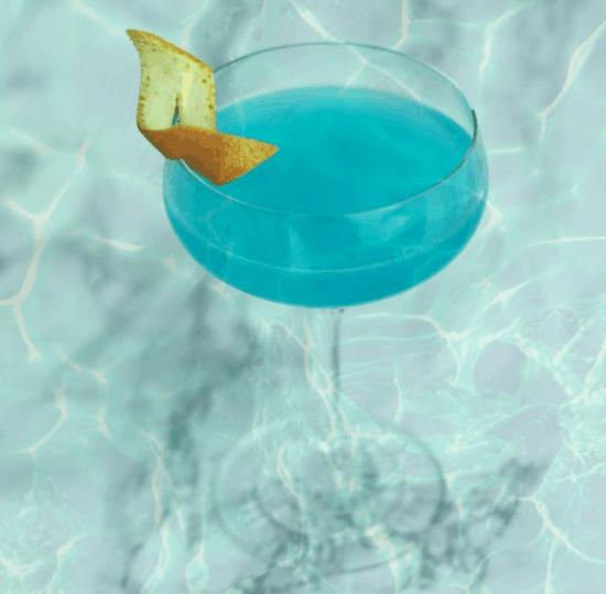 little mermaid bar drink