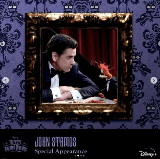 John Stamos Muppets Haunted Mansion