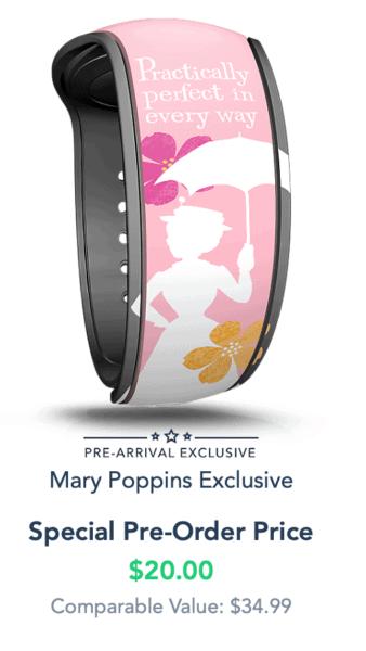 mary poppins magicband