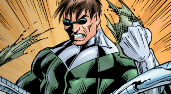 Doctor Octopus tearing material