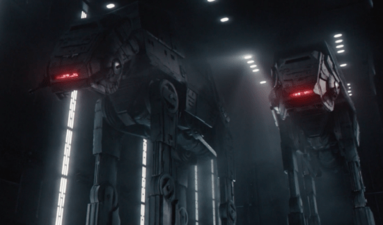 AT-AT in Star Wars: Rise of the Resistance