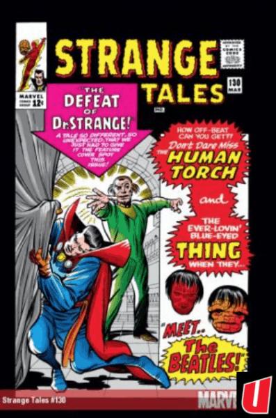 Cover of Strange Tales by Steve Ditko