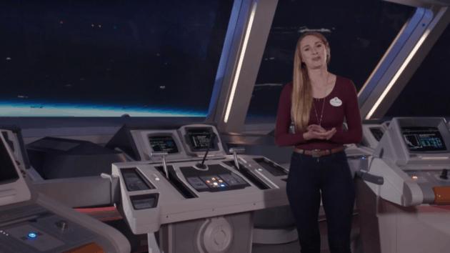 Galactic Starcruiser bridge