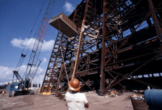 Construction of Walt Disney World