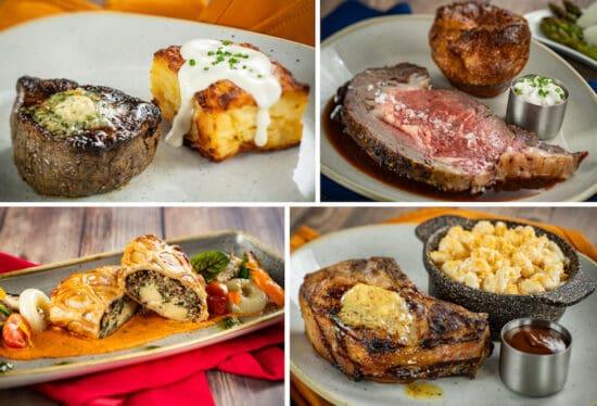 Steakhouse 71 food