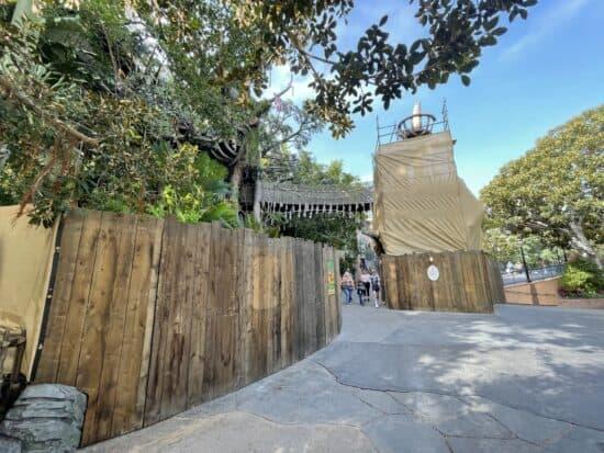 Tarzan's Treehouse Blocked off