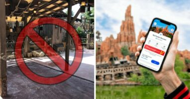 disneyland paris fast pass kiosks removed
