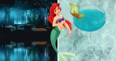 little mermaid themed bar