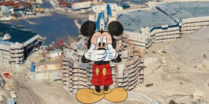 cinderella castle construction