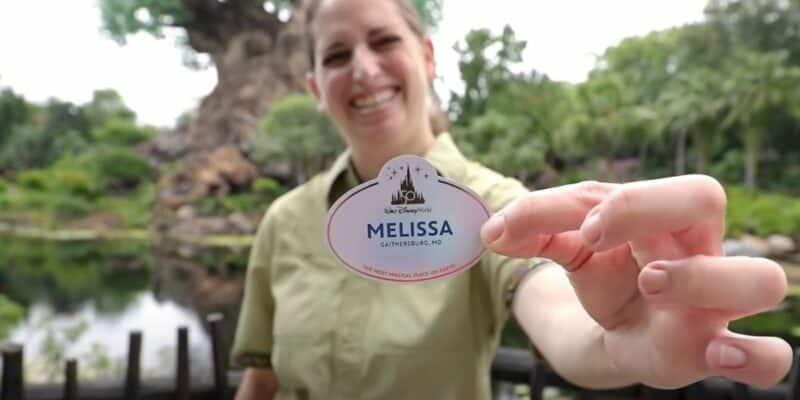 Disney World Cast Member Name Tags
