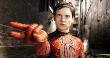 Tobey Maguire as Spider-Man