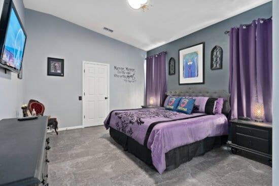 Wicked Queen Bedroom